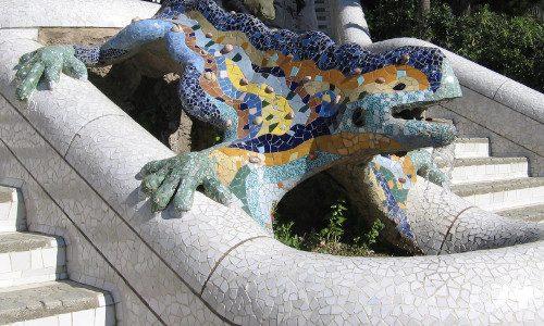 Parque Güell. Barcelona